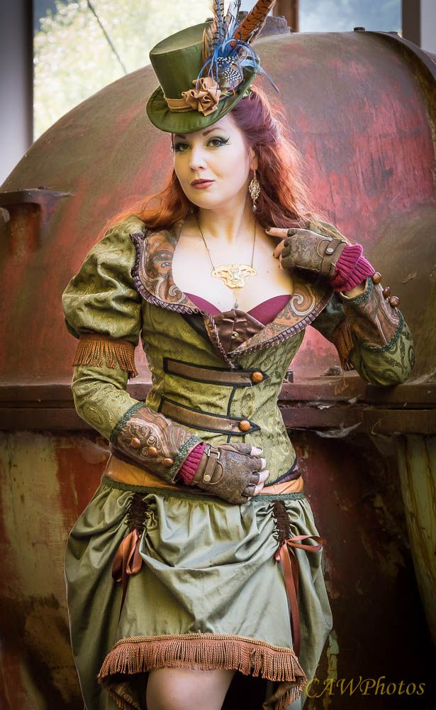 Steampunk Girl. Photography by CAW PHOTOS