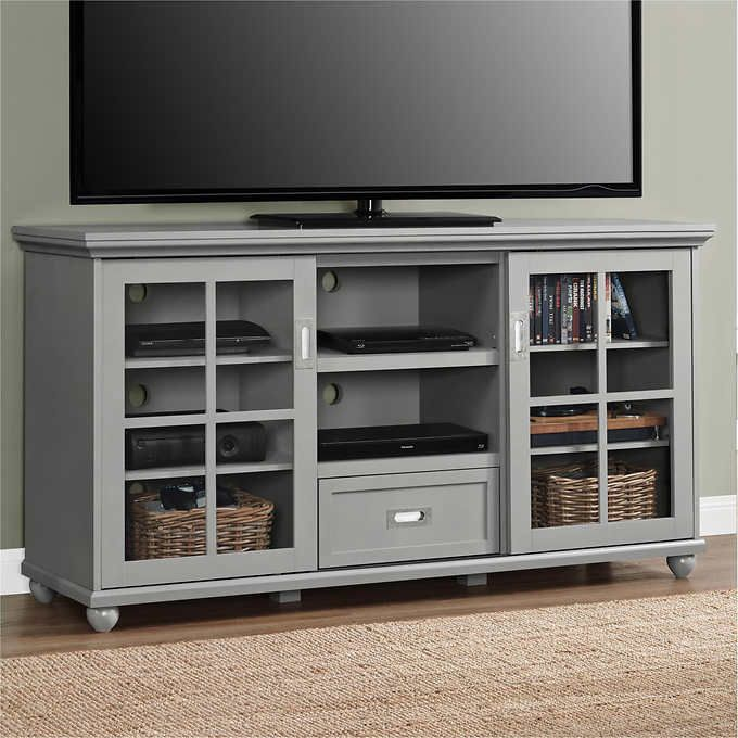 Aaron Lane Grey Television Stand/Buffet