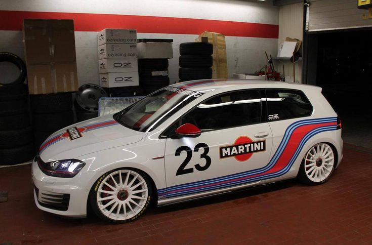 Martini Racing VW Golf Mk7 | VW Golf Tuning