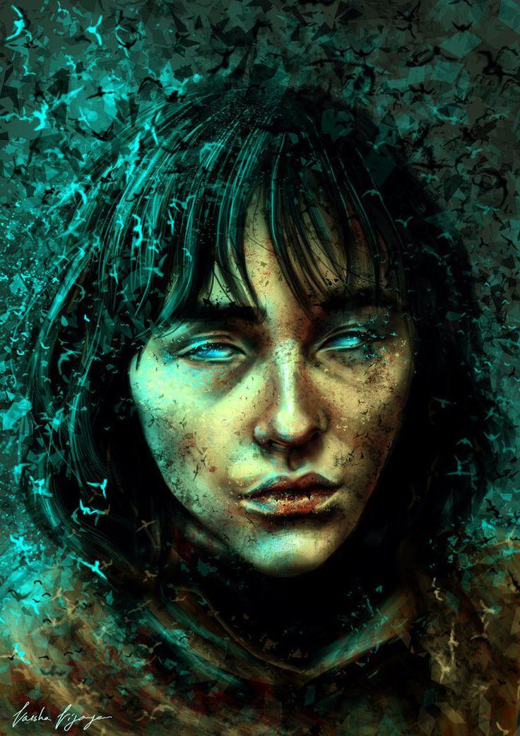 ArtStation - Bran Stark - Game of Thrones., Varsha Vijayan