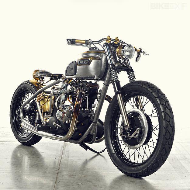 Triumph T120 Steampunk Bonneville by Analog Moto | Gear X Head