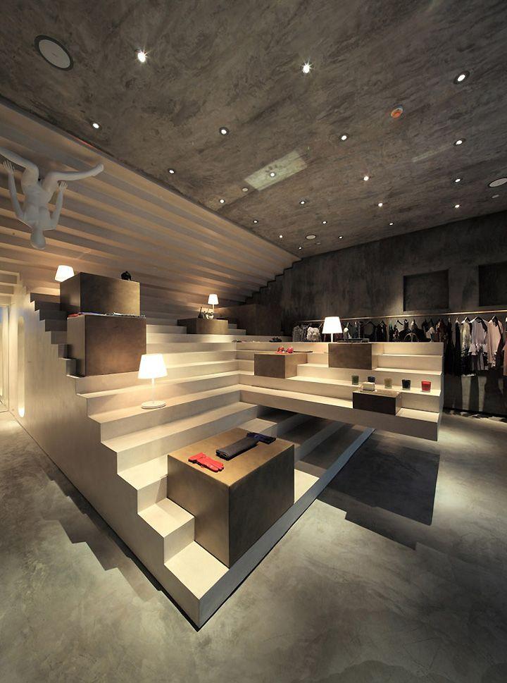 ALTER Concept Store In Shanghai China By 3Gatti Architecture Studio Interior DesignRetail