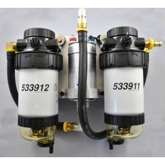 Visit our site http://bdpshop.com/ for more information on Beans Diesel Performance. Beans Diesel Performance customized fuel system switches out the entire fuel system from the container selector ahead. It has Stanadyne filters, one 150 micron prefilter, and one 5 micron final filter; both with water separators and sediment bowls.