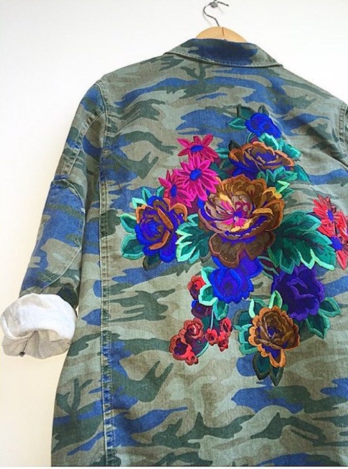 Ellie Mac's Embroideries Turn Everyday Clothes into Works of Art
