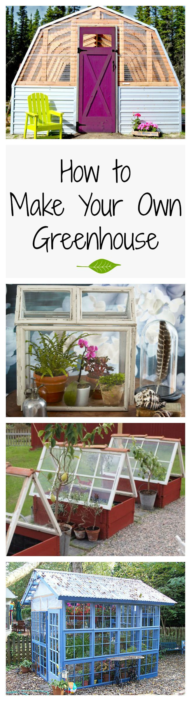 No matter the season, greenhouses are a gorgeous backyard addition. Plus, you can grow your own produce.
