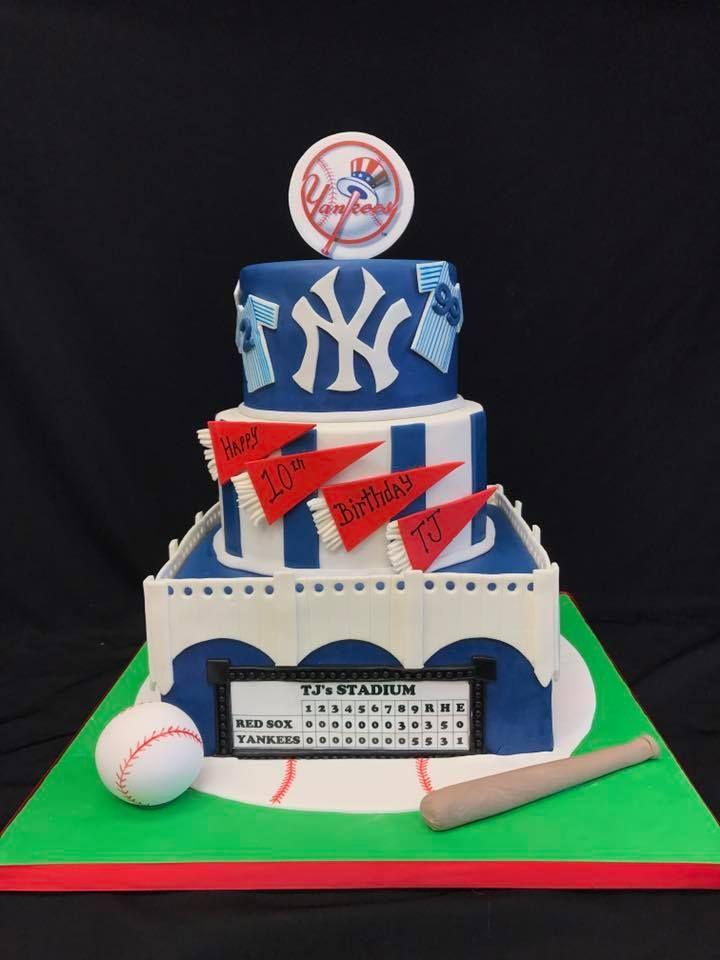 GO YANKEES birthdaycake yankees baseballcake 8 best