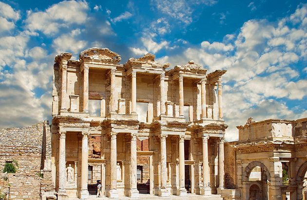 The mighty ruin of Ephesus is a city of colossal monuments and marble-columned roads. One of the most complete, still-standing Roman cities, this is the place to experience what life must have been like during the golden age of the Roman Empire.