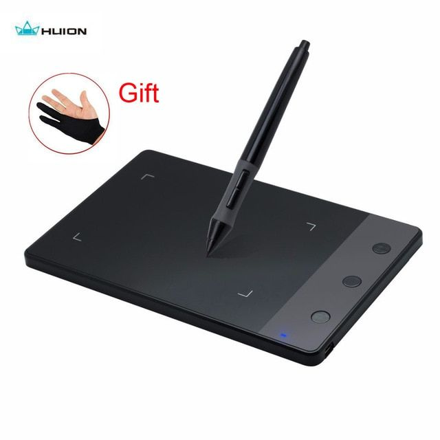Original Huion H420 Graphic Drawing Tablet Professional Usb Digital Pen Signature Pad For Windows Mac Os Battery Glove G Digital Tablet Drawing Tablet Tablet