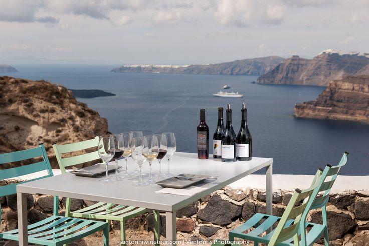 #Wine tasting in #Santorini