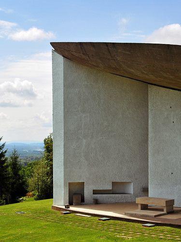 The Chapel of Notre Dame du Haut, Ronchamp / Le Corbusier | Flickr