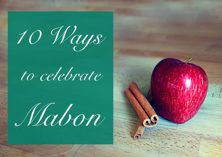 10 ways to celebrate mabon ~ Go apple-picking and make something from scratch