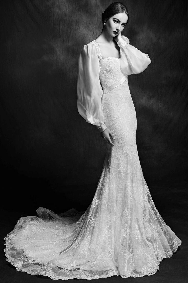 Lusan Mandongus Wedding Dresses   Bridal Collection 2015   http://www.itakeyou.co.uk/wedding/lusan-mandongus-wedding-dresses-2015 #weddingdresses #weddinggown