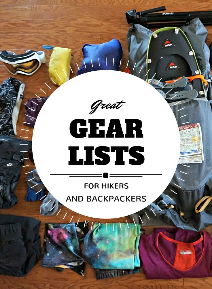 Multiple gear spreadsheets and more gear info for hikers and backpackers - trailtosummit.com