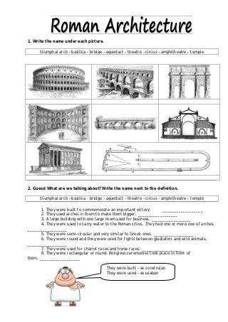 Ancient Rome: Architecture