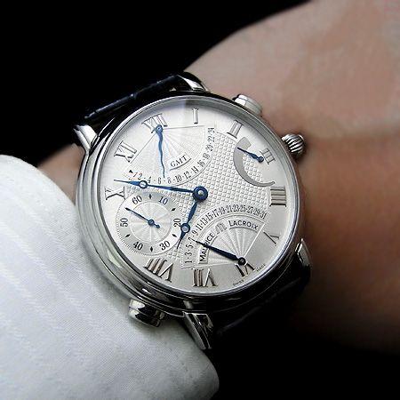 宝時計! 夢時計! 多針時計! 珍時計! ☆独断時計日記☆ 夢時計買っちゃいました!念願のダブルレトログラード!