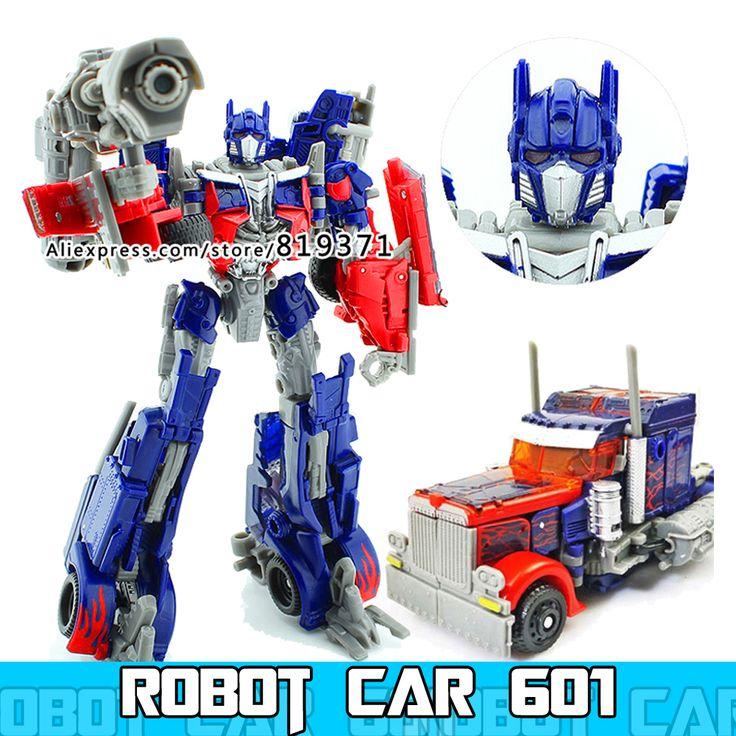 Transformation boîte D'origine Grand Voitures Robots Figurines Classique Jouets Pour Garçon Cadeau D'anniversaire Juguetes Figuras Transformador Jouet