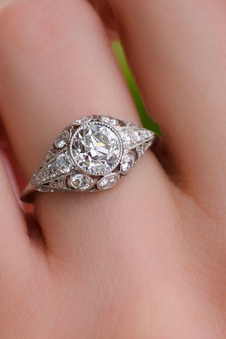 91 best diamonds, baby! images on Pinterest | Engagements, Wedding ...