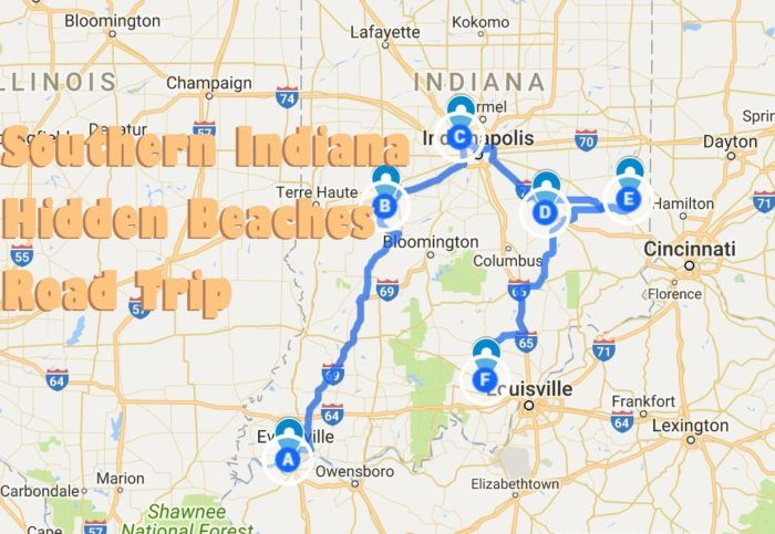 The Hidden Beaches Road Trip That Will Show You Southern Indiana Like Never Before