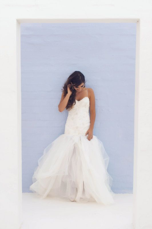 Wedding Dress by Janita Toerien Photo By Claire Thomson Photography