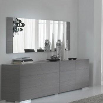 Elba dressoir grijs