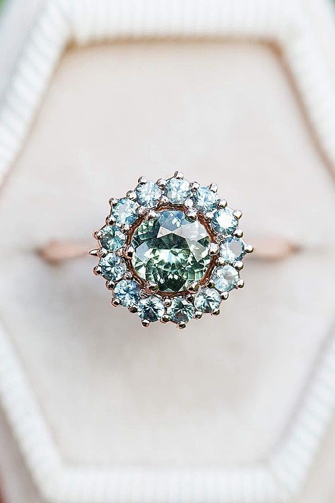 30 Halo Engagement Rings Or How To Get More Bling