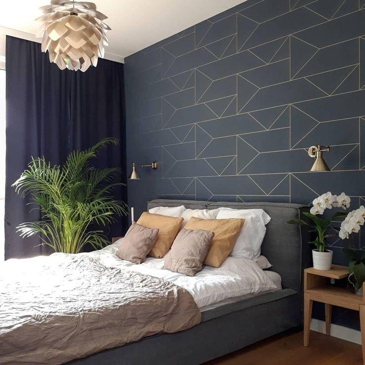 Pendelleuchte Silvia Bausatz Zimmer Tapete Modernes