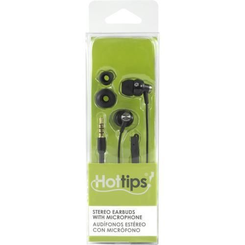Hottips High Sound Quality Earbuds with Mic- Carton of 4 H899-1876667