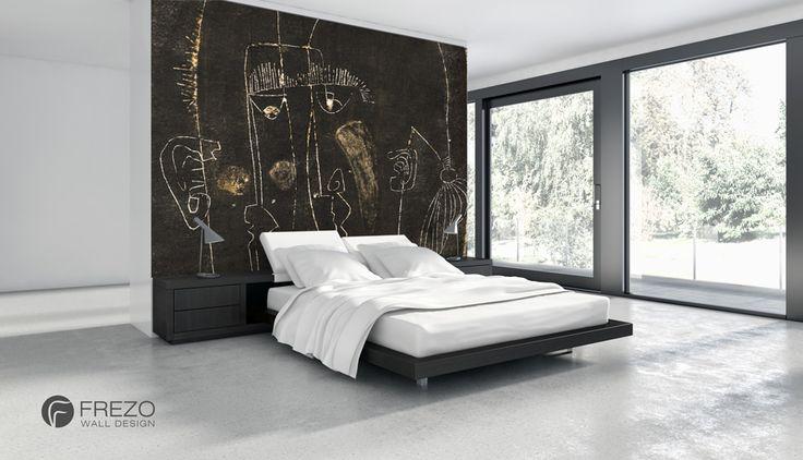 "Wallpaper ""Woman and Man"" • WOO Design"