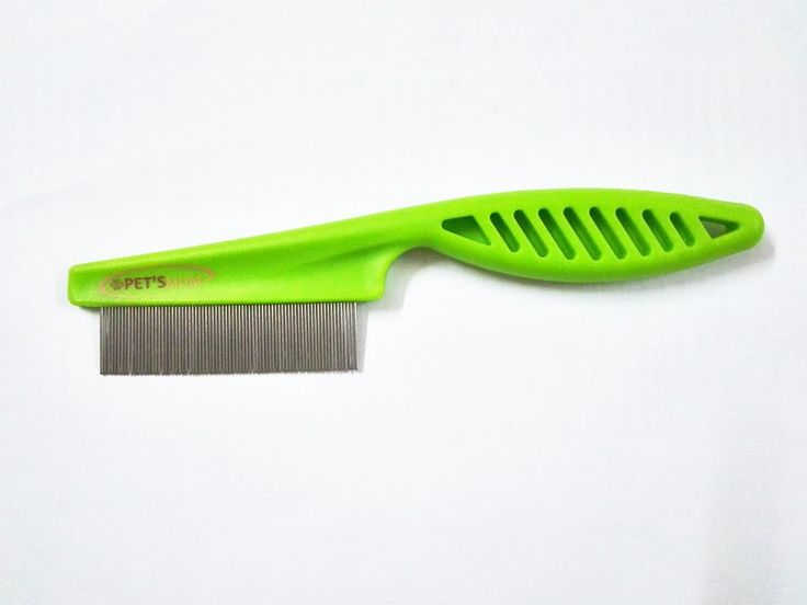Flea Comb for dogs, cats and pets with double teeth stainless steel. Premium quality with Guaranteed flea solution. Visit site now!