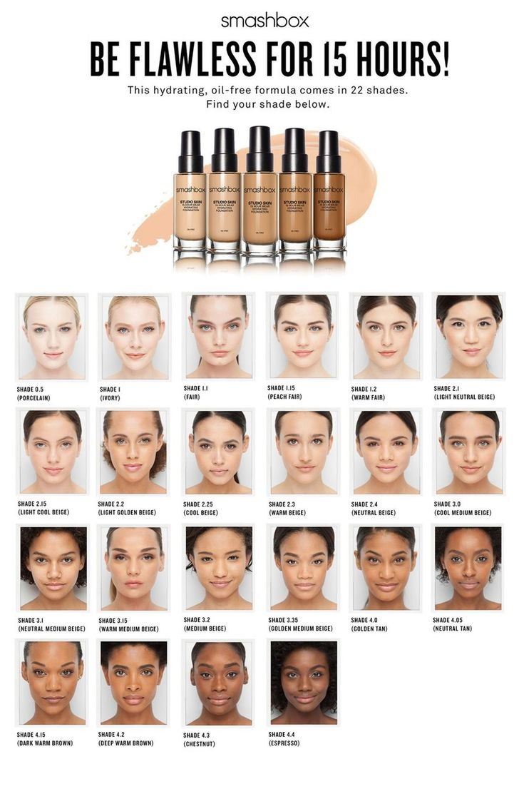 Free shipping and returns on Smashbox 'Studio Skin' 15 Hour Wear Foundation at Nordstrom.com. What it is: This hydrating foundation was created in our LA photo studio to look and feel amazing for 15 hours—from the set to the street. Because, really. Who has time for touch-ups?What it does:• Medium-to-full buildable coverage• Oil-free, hydrating formula—without the shine• Light-diffusing spheres blur imperfections• Sweat-proof, transfer-proof & exercise-resistant• Color true and color…
