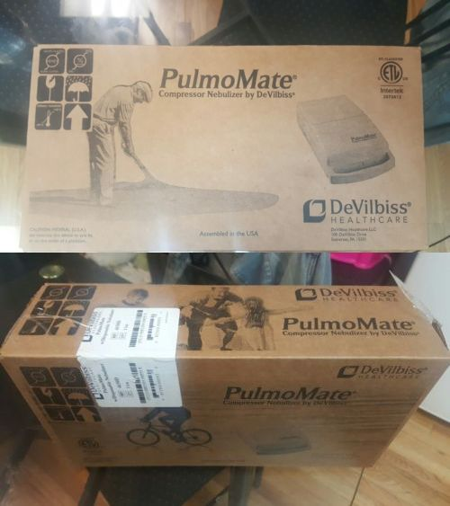 Inhalers and Nebulizers: Devilbiss Pulmomate Portable Compressor Nebulizer -> BUY IT NOW ONLY: $30 on eBay!
