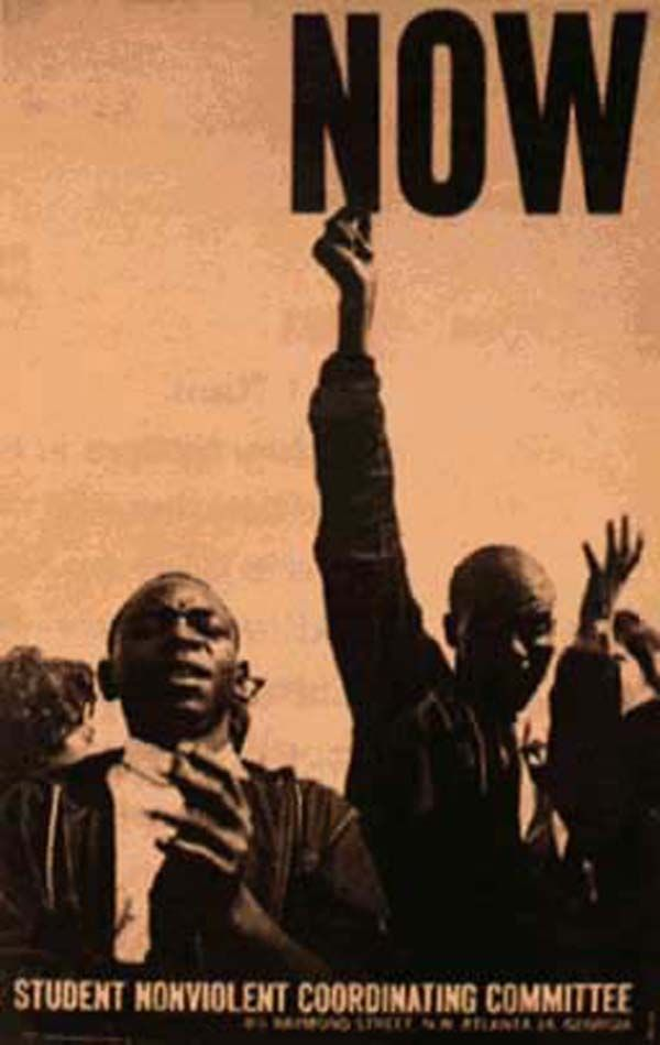 Now - civil rights poster