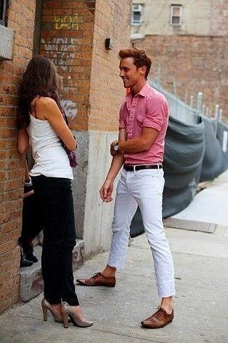 Cómo combinar unos pantalones blancos en 2016 (283 formas) | Moda para Hombres