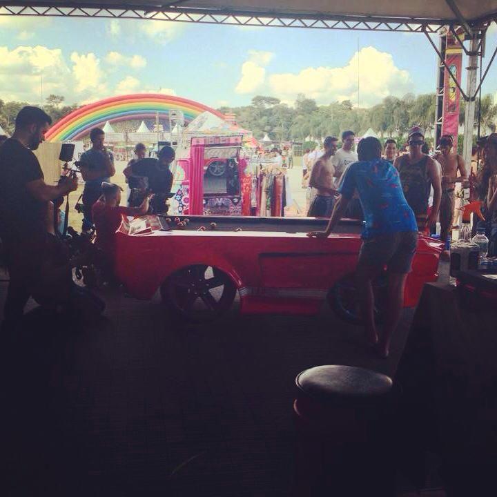Espaço Barbearia Cartola no Evento Tomorrowland, maior festival de música eletrônica do mundo, em sua primeira edição realizada no Brasil.