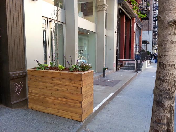 Custom Built IPE Wood Planters And Planter Boxes. Built In Roof Garden  Planters For Terrace Gardens,penthouse Garden Planter Installations, Large  Sidewalk ...
