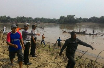 Bojonegoro : Polsek Baurno gencar tindak penambang pasir ilegal