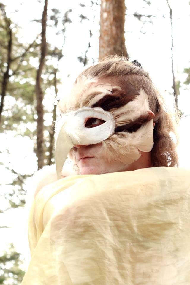 A owl mask that i love. ♥