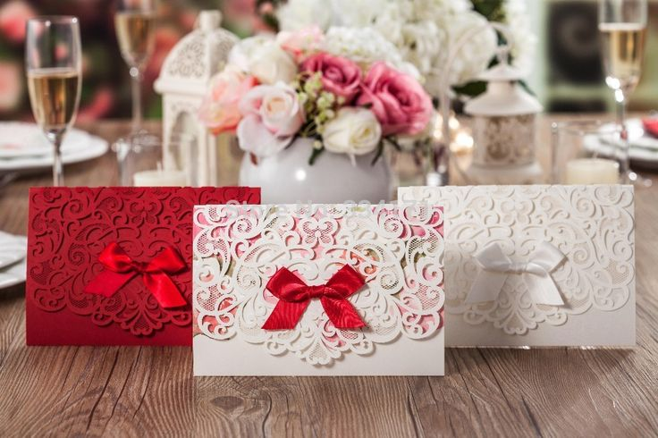 Cheap Event & Party Supplies, Buy Directly from China Suppliers:      Category: Invitation Cards Themes: Garden Theme, Asian Theme Seasons: Spring, Summer Color: White, Red,pink D