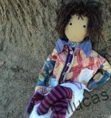 Resultat d'imatges de muñecas de trapo artesanales y unicas