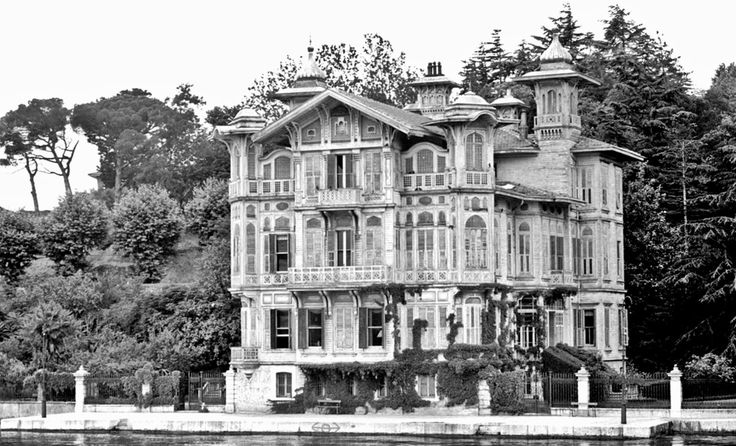 Afif Paşa Yalısı / 1960 / Yeniköy http://ift.tt/1TrcbTf