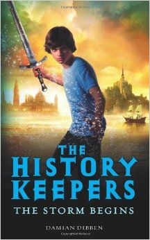 Storm Begins (History Keepers): Damian Dibben: 9780857530530: Amazon.com: Books