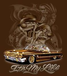 lowrider drawings pictures   LOWRIDER ART - Cool Graphic
