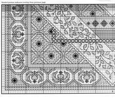 Blackwork cushion pattern part 2