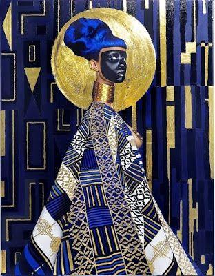 "Lina Iris Viktor da IL RAMO D'ORO ""Pittori-Painters""  https://ilramodoro-katyasanna.blogspot.it/2013/11/pittori-painters.html"