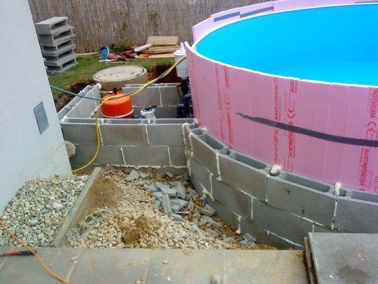 Das AQUAPOOL SchwimmbadForum • Stahlwandpool Ebenerdig