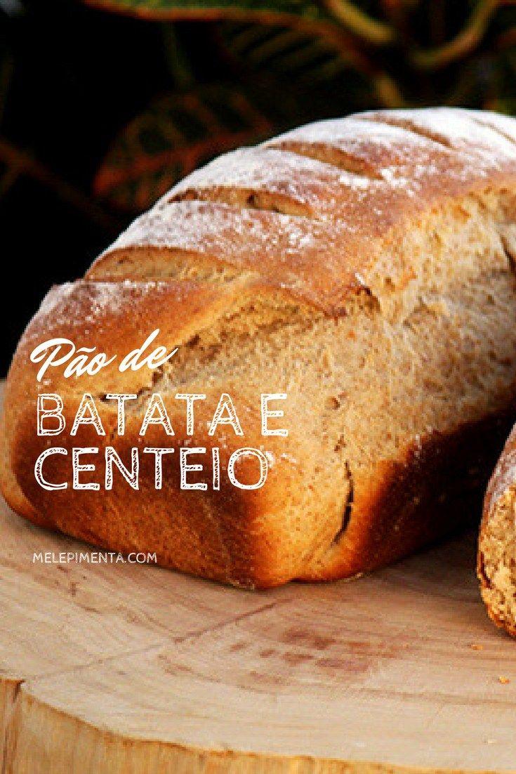 Pão de Batata e Centeio    Receita de pão de batata e centeio, saudável, fácil de fazer e muito gostoso. Faça pão em casa.