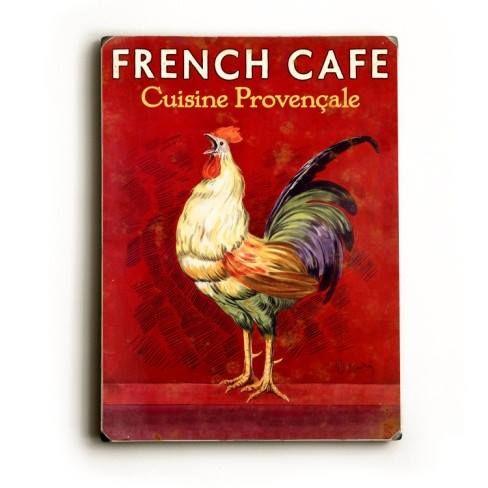 Bom dia, com café (brasileiro) e sotaque francês.