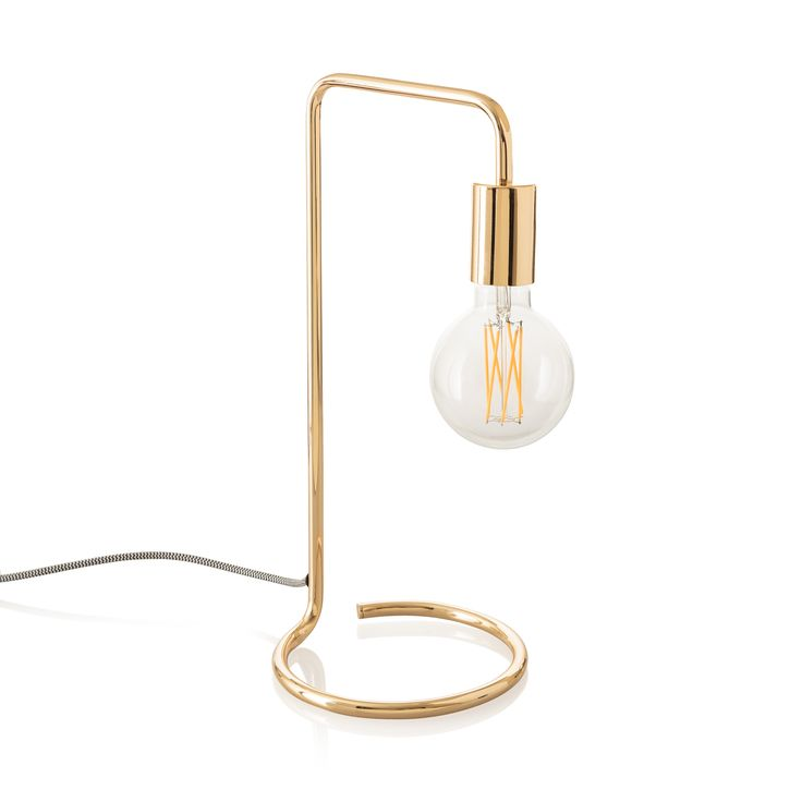 Buy the Gold Celio Table Lamp at Oliver Bonas. Enjoy free UK standard delivery for orders over £50.