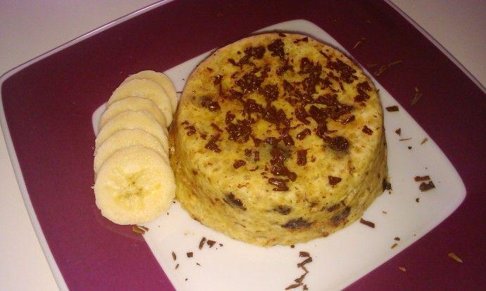 Fit hrnečkový koláč