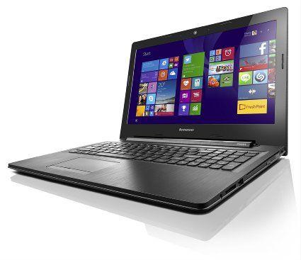 Lenovo G50 15.6-inch Notebook (Intel Celeron N2840 2.58 GHz, 4 GB DDRIIIL RAM, 500Gb HDD, DVDRW, Wi-Fi, BT, Camera, Integrated Graphics, Windows 8.1 with Bing) - Black